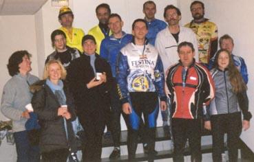 Participants à la première sortie du club, centre des loisirs Montfort l'Amaury