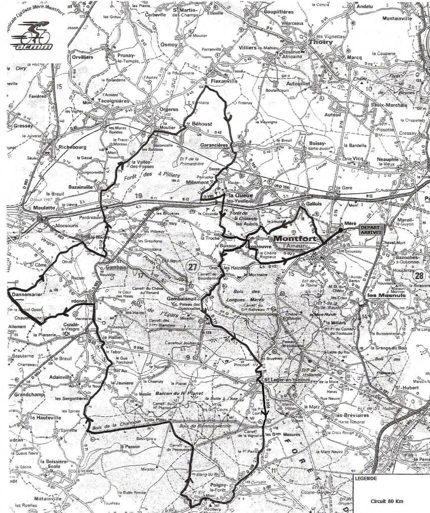 Parcours 80 km (agrandir l'image)