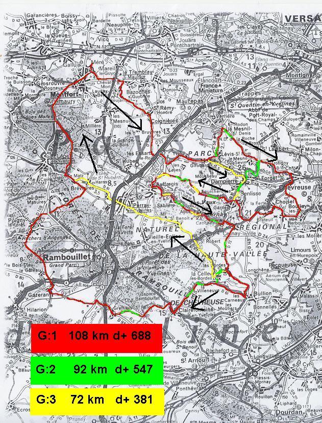 parcours 32 zig-zag en vallée de Chevreuse